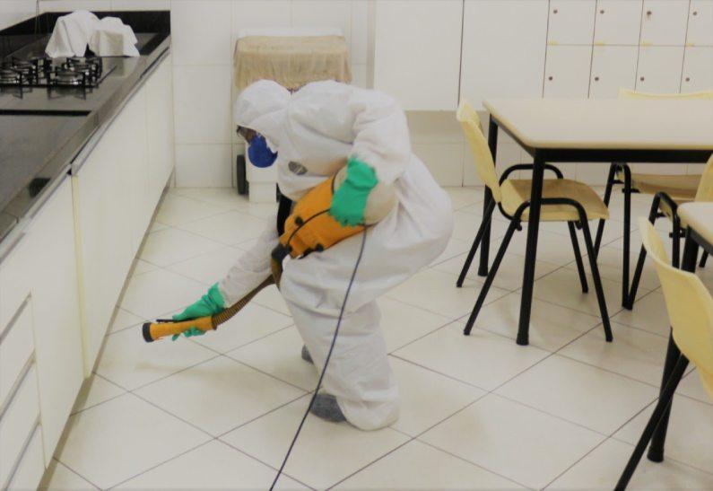 Clean Up é um serviço de sanitização para higienização e desinfecção de ambientes