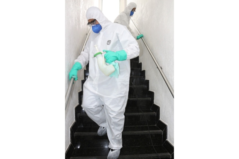 Clean Up é um serviço de sanitização para higienização e desinfecção de ambientes | Uniprag Rio